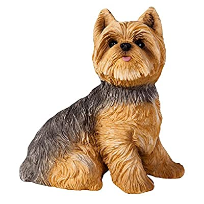 Sandicast Life Size Yorkshire Terrier Sculpture