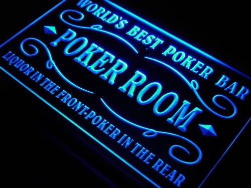 ADVPRO Cartel Luminoso s143-b Best Poker Room Liquor Bar ...