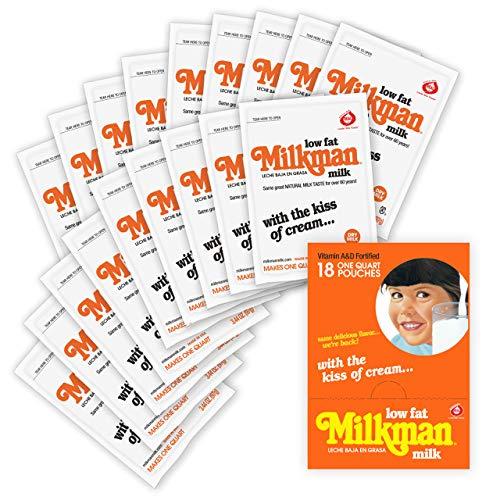 Milkman Lowfat Milk (Original, 18-Count) 62 Oz