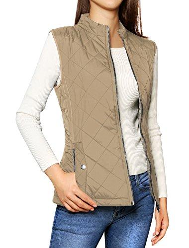 Womens Clothing : Vests Khaki - 5