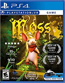 fddfc0fca089 Amazon.com  Moss - PlayStation 4  Video Games