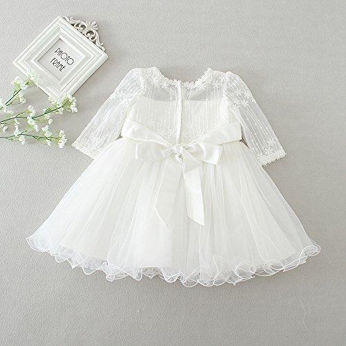 bautizo vestido de ZAMME de bautizos de Vestido de niña flor niña de niña nx85wTqYr5