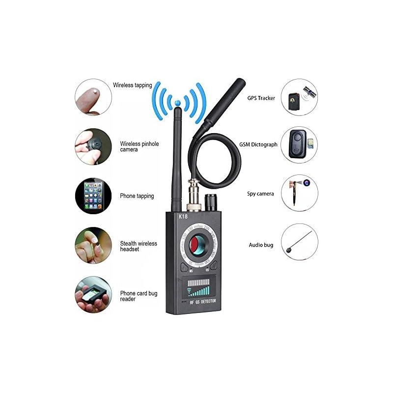 JMDHKK Anti Spy RF detector wireless Bug