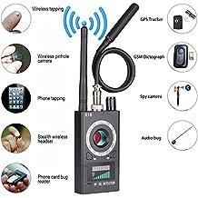 JMDHKK Anti Spy RF detector wireless Bug detector signal for Hidden Camera Laser Lens GSM Listening Device Finder Radar Radio Scanner Wireless Signal Alarm