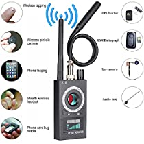 Anti Spy RF Detector Wireless Bug Detector Signal for Hidden Camera Laser Lens GSM Listening Device