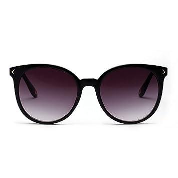 ZHOUYF Gafas de Sol Gafas De Sol Redondas para Mujer ...