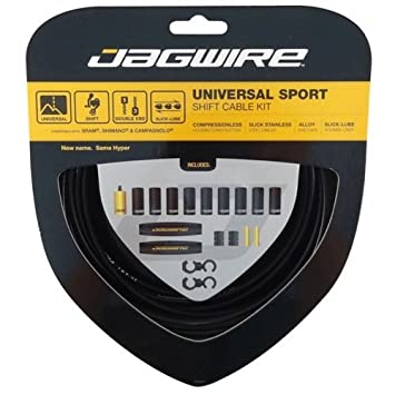 Jagwire Universal Sport Shift Kit Hyper Black