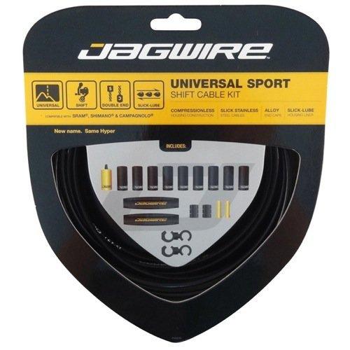 Jagwire Universal Sport Shift Kit (Hyper), Black