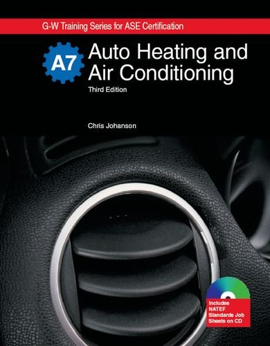 Auto Heating & Air Conditioning: Textbook w/ Job Sheets CD