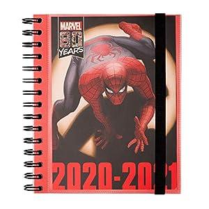 Diario scuola settimanale 2020/2021 Marvel Classic Spiderman, 11 mesi, 15,5x19 cm, illustrazioni a colore, spazi extra… 12 spesavip