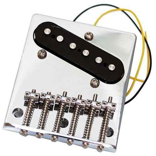 Fender  Squier Standard Tele/Telecaster Guitar Bridge - Chrome (Fender Squier Bridge compare prices)