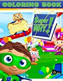 super why books - Super Why Coloring Book: Great Activity Book for Kids