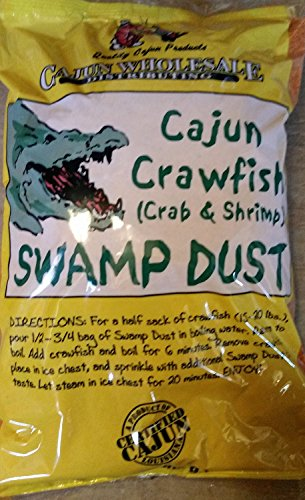 (Cajun Crawfish (Crab & Shrimp) Swamp Dust 4LB)