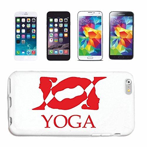 """cas de téléphone iPhone 6S """"YOGA FITNESS GYM GYM YOGA EXERCICES YOGA CLUB Bauchweg EXERCICES DE FORMATION"""" Hard Case Cover Téléphone Covers Smart Cover pour Apple iPhone en blanc"""