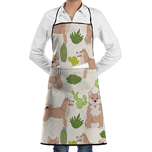 - Shiba Inu Dog Chef Aprons Lightweight BBQ Personalized Aprons Prepare For Family Woman Dacron