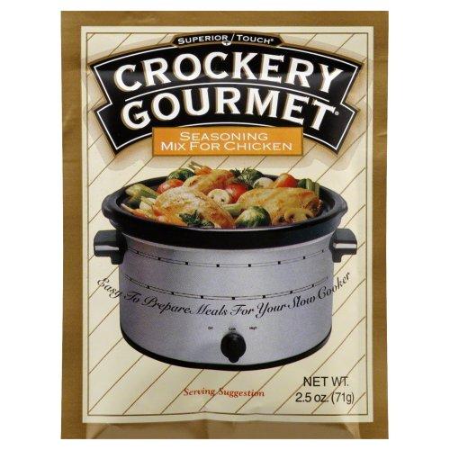 Crockery Gourmet Seasoning Mix - Crockery Gourmet Chicken Crockery Cooking Seasoning Mix 2.5 OZ (Pack of 3)
