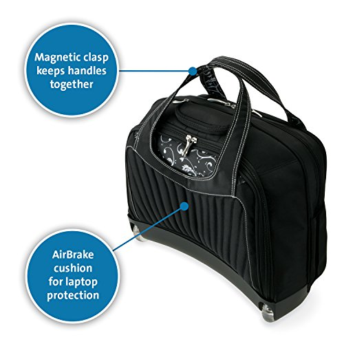 Kensington K62533US Contour Balance Notebook Roller Bag in Onyx, Fits Most 15-Inch Notebooks by Kensington (Image #2)