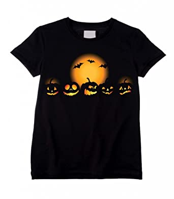 Amazon.com: Tribal T-Shirts Big Boys' Halloween Pumpkin Trick or ...