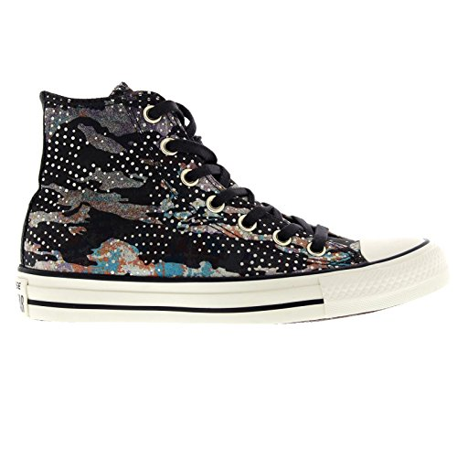 Converse Womens Chuck Taylor Mountain Almost Black Textile Trainers 9 US