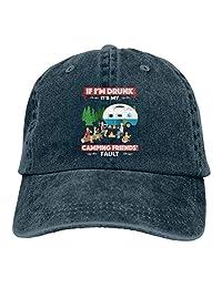 Men & Women Cotton Adjustable Cowboy Hat -