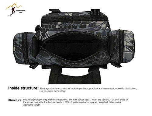 Jungle 6L laptop camera bag escursioni campeggio arrampicata ciclismo zaino multifunzione alpinismo borsa a tracolla, ACU Digital