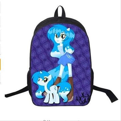 HPADR Mochila Infantil Mi Pony Mochila para Adolescentes ...
