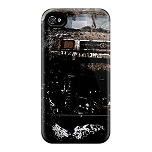 Durable Case For The Iphone 4/4s- Eco-friendly Retail Packaging(monster Truck) by icecream design