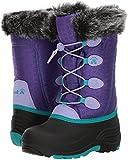 Kamik Kids' Snowgypsy Snow Boot, Purple, 8 Medium US Toddler