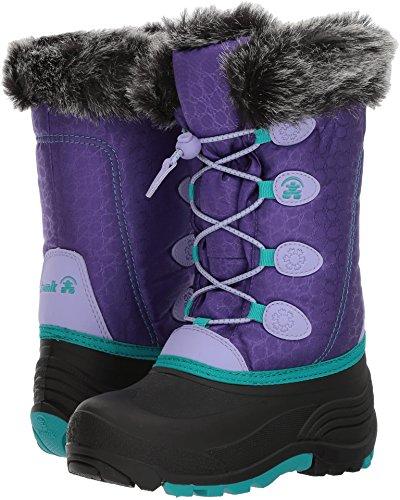 (Kamik Kids' Snowgypsy Snow Boot, Purple, 10 Medium US Toddler)