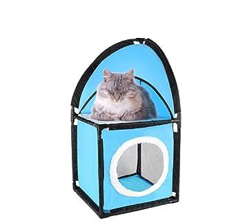 SHKY Gato Escalada Marco Gato Casa Y Juguete Apartamento: Amazon.es: Hogar