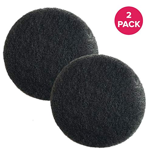 - 2 Replacements for Eureka Mighty Mite Motor Foam Filter Fits Mighty Mite & Sanitaire Vacuums, Compatible with Part # 38333, by Think Crucial