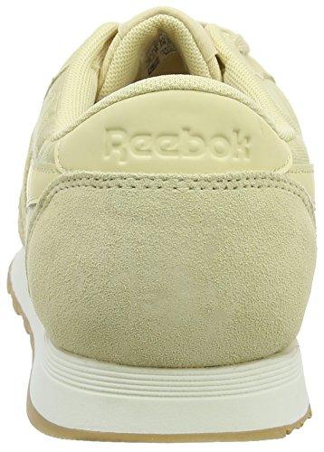 Herren Beige Reebok En Sneaker paille Nylon Sg Craie Classique vUxqS4w