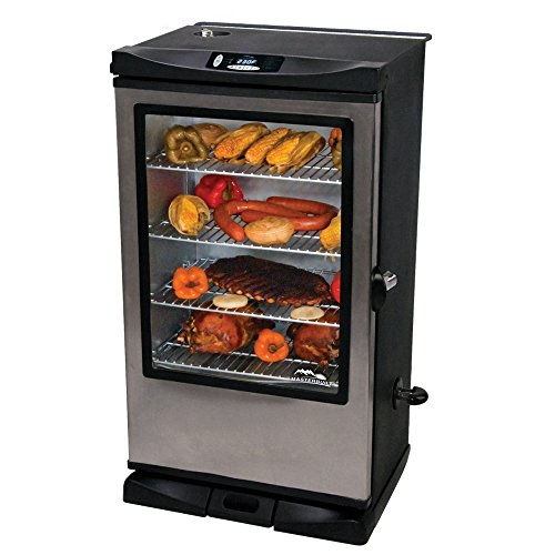 "Make ""Dadgum, That's Good"" Brined & Smoked Chicken Quarters in a Masterbuilt 20075315 Front Controller Smoker with Viewing Window and RF Remote Control, 40-Inch"