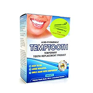 Temptooth #1 Seller Trusted Patented Temporary Tooth Replacement Product 9