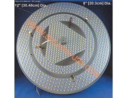 SOLARA-USA a SET of LED Circlines T9 8-inch & T9 12-inch - 120Vac 33Watts 7500Lumens - NON-DIMMABLE. P/N: SPTL392LR/SPTL448LRM (WARM WHITE [4000K]) by SOLARA-USA