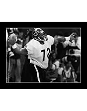 8 x 10 All Wood Framed Photo Refrigerator Perry Bears 85 Super bowl