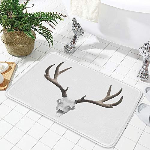 YOLIYANA Non-Slip Mat,Antlers Decor,for Bathroom Kitchen Bedroom,19.69
