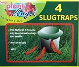 4 x SLUG & trappole per lumache, facile da usare, sicuri, No agenti chimici, colore: naturale