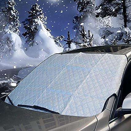 Amazon Com Ameiq Car Windshield Snow Cover Sun Shade Front Window