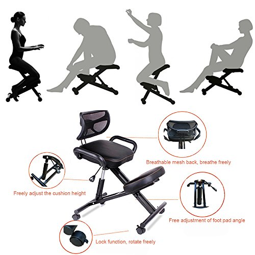 Vogvigo Ergonomic Kneeling Chair,Orthopaedic Stool Posture