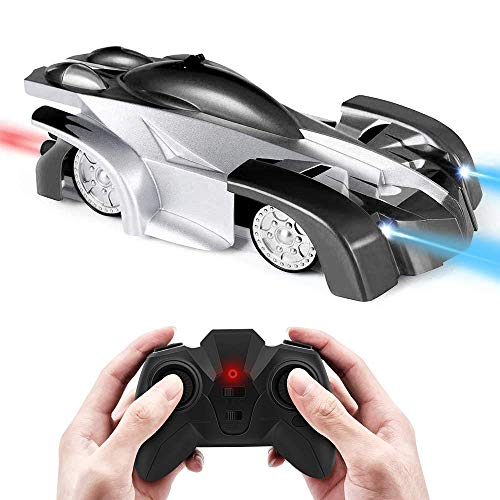 MOFANS 360°Rotating Stunt Rechargeable High Speed Vehicle RC Race Cars Remote Control Car Toys Wall Climbing Car Dual Mode Christmas Birthday Gifts for Kids Boys Girls Teens Adults ()