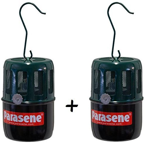 2 x Parasene Hanging Paraffin Heater for Cold Frame Mini Greenhouse Anti Frost (2) by Parasene