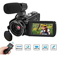 Video Camera Camcorder, Aitechny Camera Camcorder Full HD...