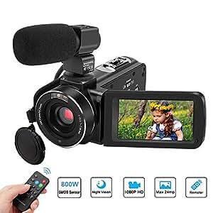 2915eeed05 Amazon.com   Video Camera for youtube