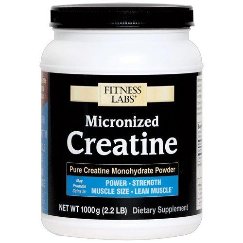 Fitness Labs Micronized Creatine, 1000 Grams