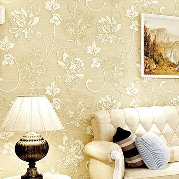 Buy 10m Continental 3D Stereoscopic Wall Sticker Paper Living Room ...
