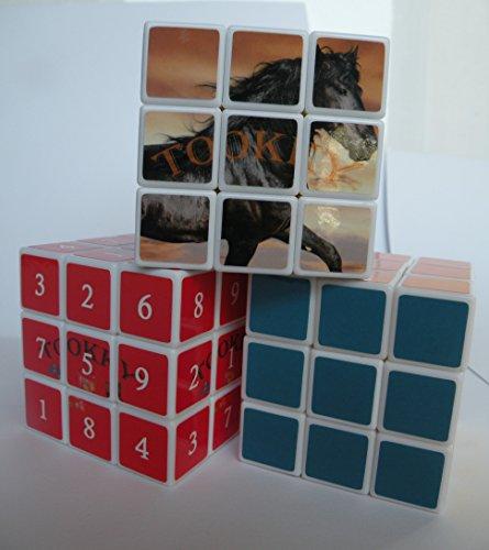 Sudoku Cube, Magic Cube Puzzle & Animal Magic-cube - 3 Speed cube bundle Brain Teaser Magicube - puzzle cubes for Adults & Kids (Super Mechagodzilla compare prices)