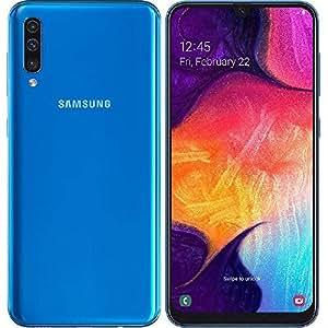Samsung Galaxy A50 Dual Sim, 128 GB, 4GB RAM,4G LTE, Blue