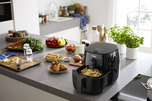 Philips-TurboStar-Airfryer-The-Original-Airfryer-with-Bonus-150-Recipe-Cookbook-Fry-Healthy-with-75-Less-Fat-Black-FFP-HD962199