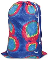 """Tie-dyed Laundry Bag Blue, 24"""" x34"""""""